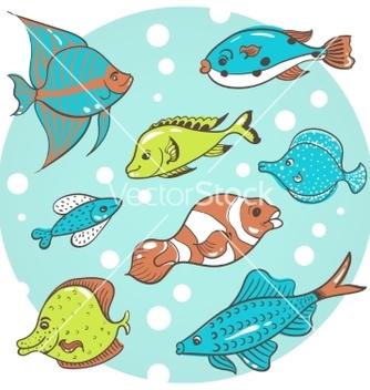 Free fish fish vector - Kostenloses vector #215803
