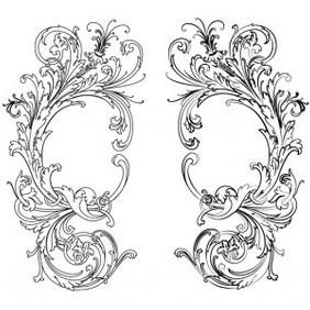 Vector Barocco Style EPS & Ai - Free vector #215863