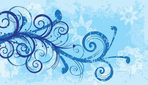 цветочный дизайн - бесплатный vector #216243