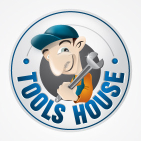 Tools House - vector gratuit #216343