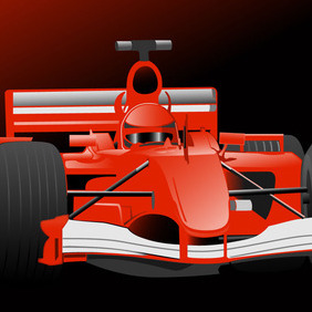Formula One Vector - Free vector #216473
