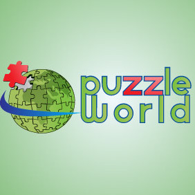 Puzzle World - Free vector #216603