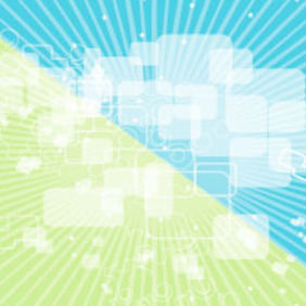 Green Blue Transparency Vector Background - бесплатный vector #217893