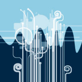 Future City Design - vector #218183 gratis