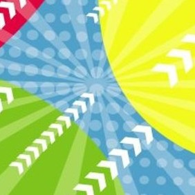 Colors In Backgound Vector Art - Kostenloses vector #218333