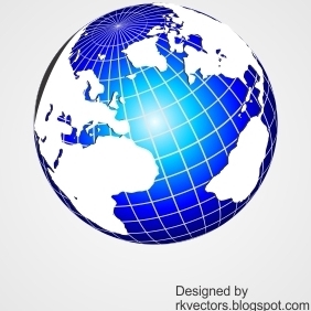 Vector World Globe Designs - vector gratuit #218403