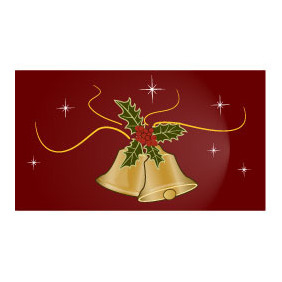 Christmas Bells Vector - бесплатный vector #218653
