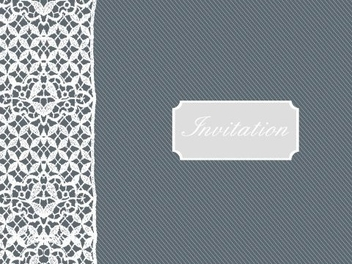 Invitation - vector gratuit #218673