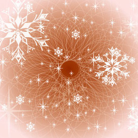 Brown Winter Design - vector gratuit #218723