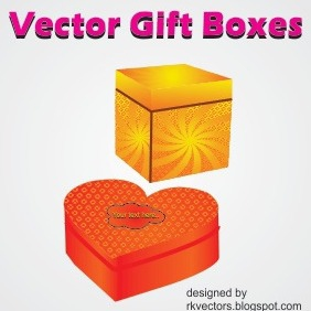 Vector Gift Boxes - Free vector #218943