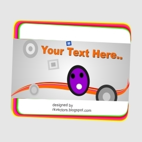 Visiting Card Designs Your Text Here - vector #219013 gratis
