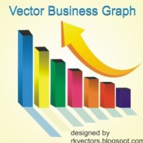 Vector Business Graph - Kostenloses vector #219083