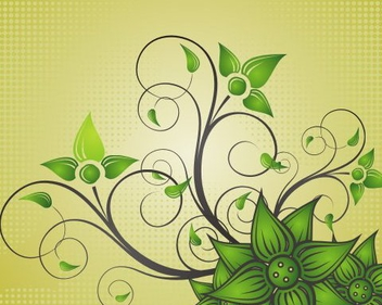 Beautiful Flower - vector gratuit #219213