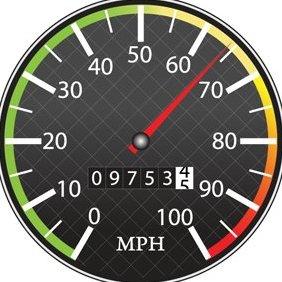 Free Speedometer Vector - Free vector #219293
