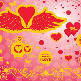Vector Love - Free vector #219413
