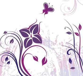 Violet - vector gratuit #219423
