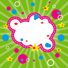 Promotional Cloud - vector #219593 gratis