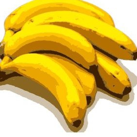 Bananas - 2 - Free vector #219763