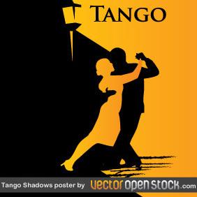 Tango Shadows Poster - Free vector #220023