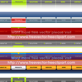 Website Navigations - Free vector #220193