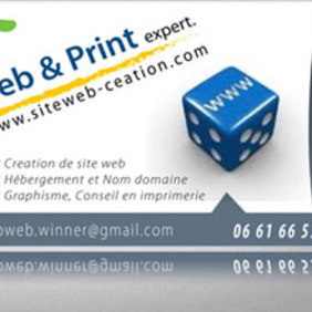 Business Card Template Vectors - vector #220823 gratis