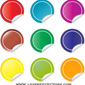 Sticker Vector - Kostenloses vector #220873