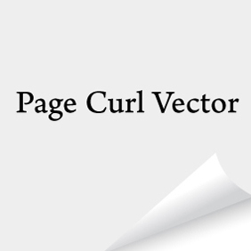 Page Curl Vector - Free vector #220913