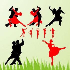 Dancing Vectors - Free vector #220943