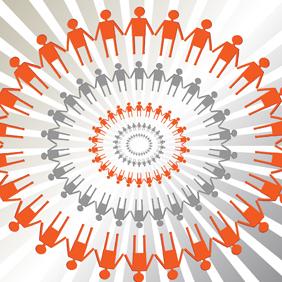 Human Circle Vector - Free vector #221103
