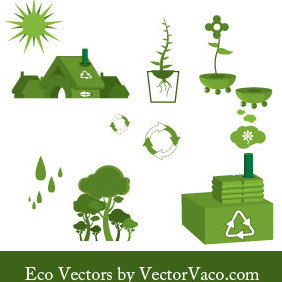 Eco Vectors - Kostenloses vector #221143
