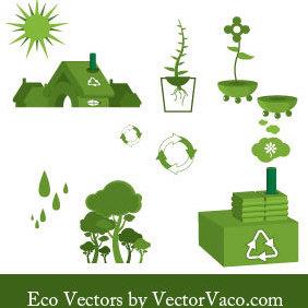 Eco Vectors - Free vector #221143