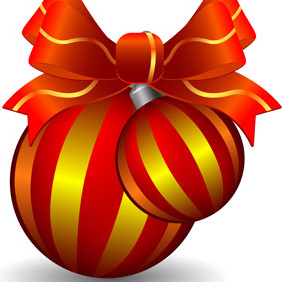 Christmas Decoration - vector gratuit #221893