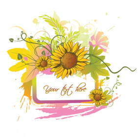 Summer Floral - Free vector #222193