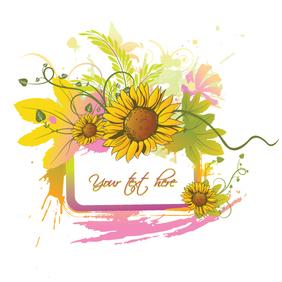 Summer Floral - vector #222193 gratis