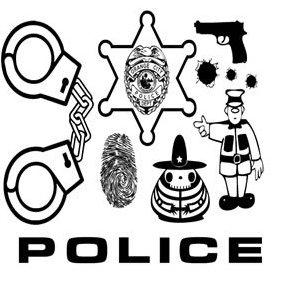 Police Vector - vector gratuit #222433