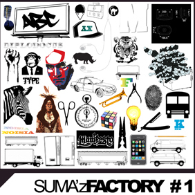 Suma'z Factory Back In Black - Free vector #222873