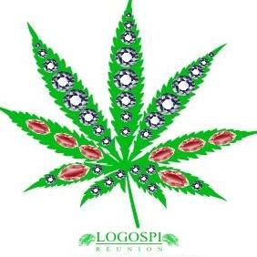 Weed Diamond Vector - Free vector #223363
