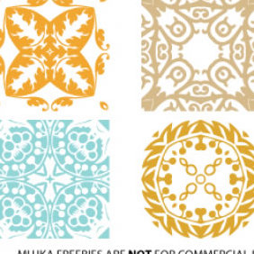 Mujka Illustration Packages - Free vector #223603