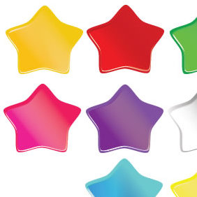 Soft Stars - Free vector #223713
