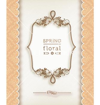 Free floral frame vector - Kostenloses vector #223963