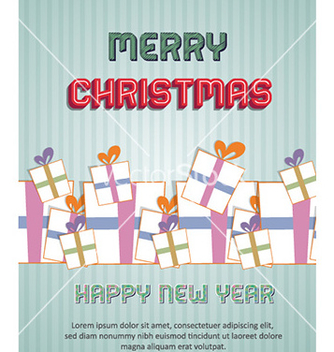 Free happy new year vector - vector gratuit #224183