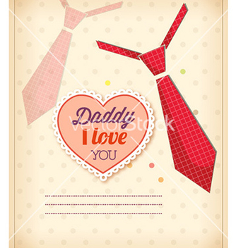 Free fathers day vector - Free vector #225163
