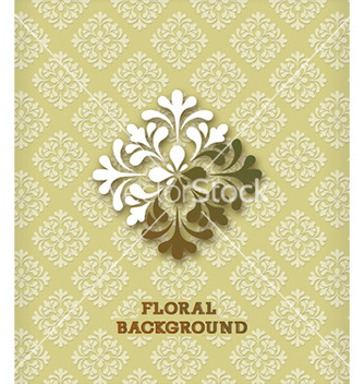 Free floral background vector - Free vector #225293