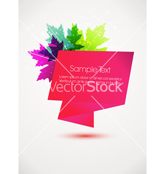 Free abstract banner vector - Free vector #225563