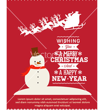 Free christmas vector - vector gratuit #225713