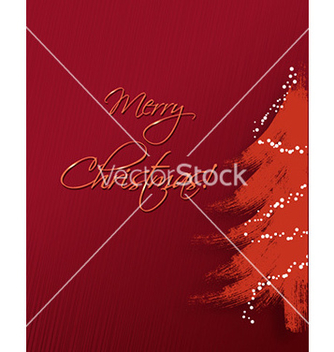 Free christmas with christmas tree vector - vector gratuit #226353