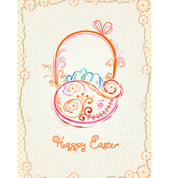 Free basket of eggs vector - vector gratuit #226813