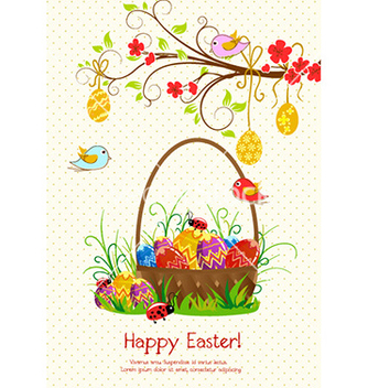 Free easter background vector - Kostenloses vector #226913