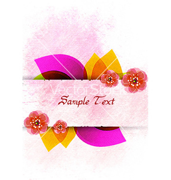 Free colorful floral vector - Free vector #227823