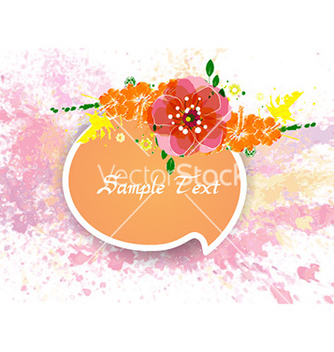 Free colorful floral vector - Free vector #227883